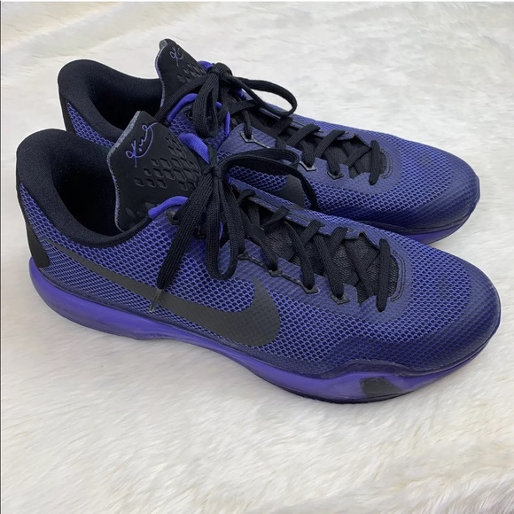 designer fashion 64a03 46637 Nike Kobe 10 Blackout Persian Violet Shoes 15. M 5c294b29aa5719800e3a15db